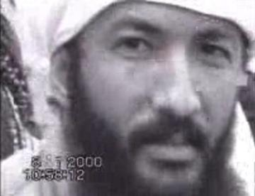 Saif al-Adel at an al Qaeda training camp in Afghanistan, January 2000