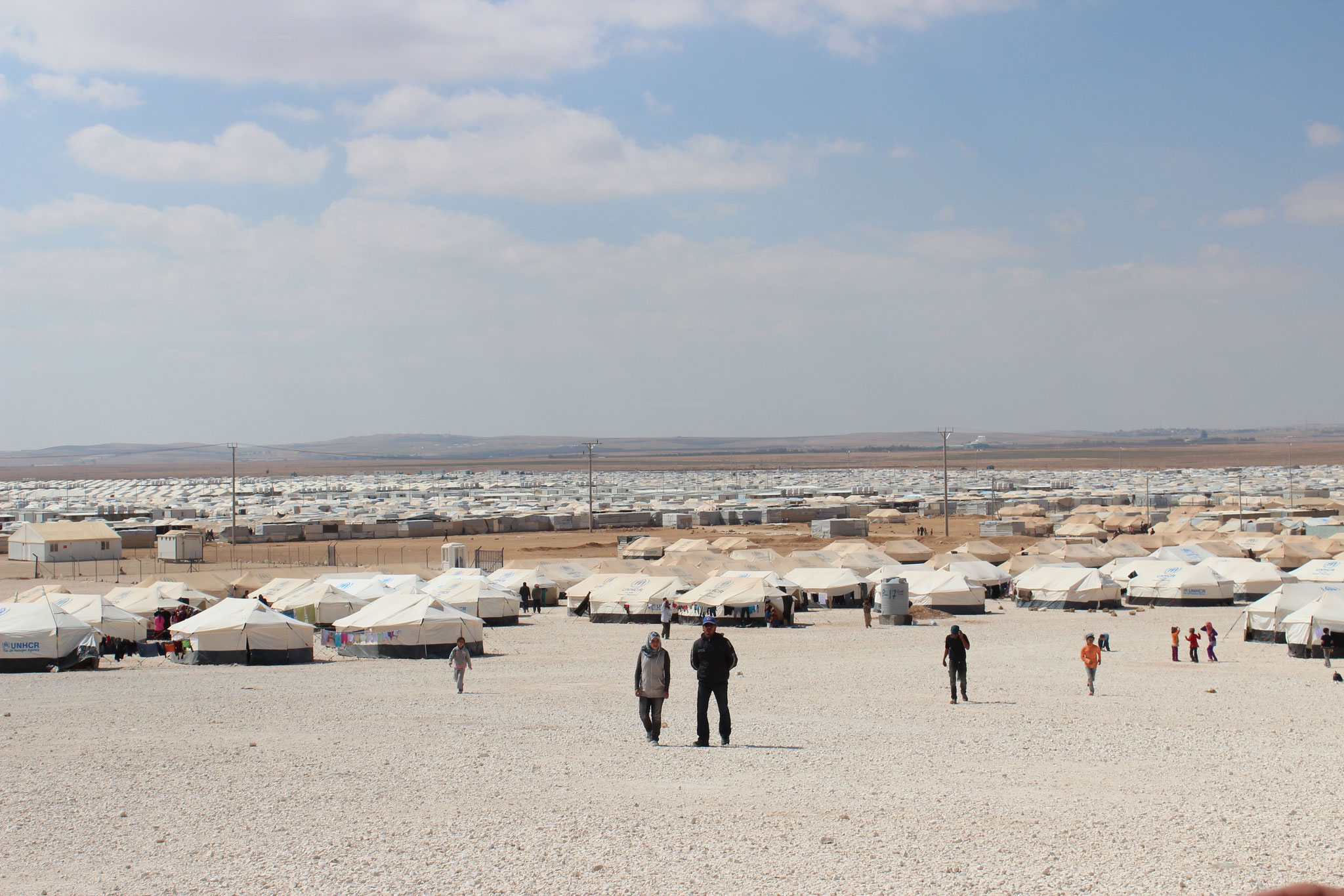 Zaatri-Camp in Jordanien
