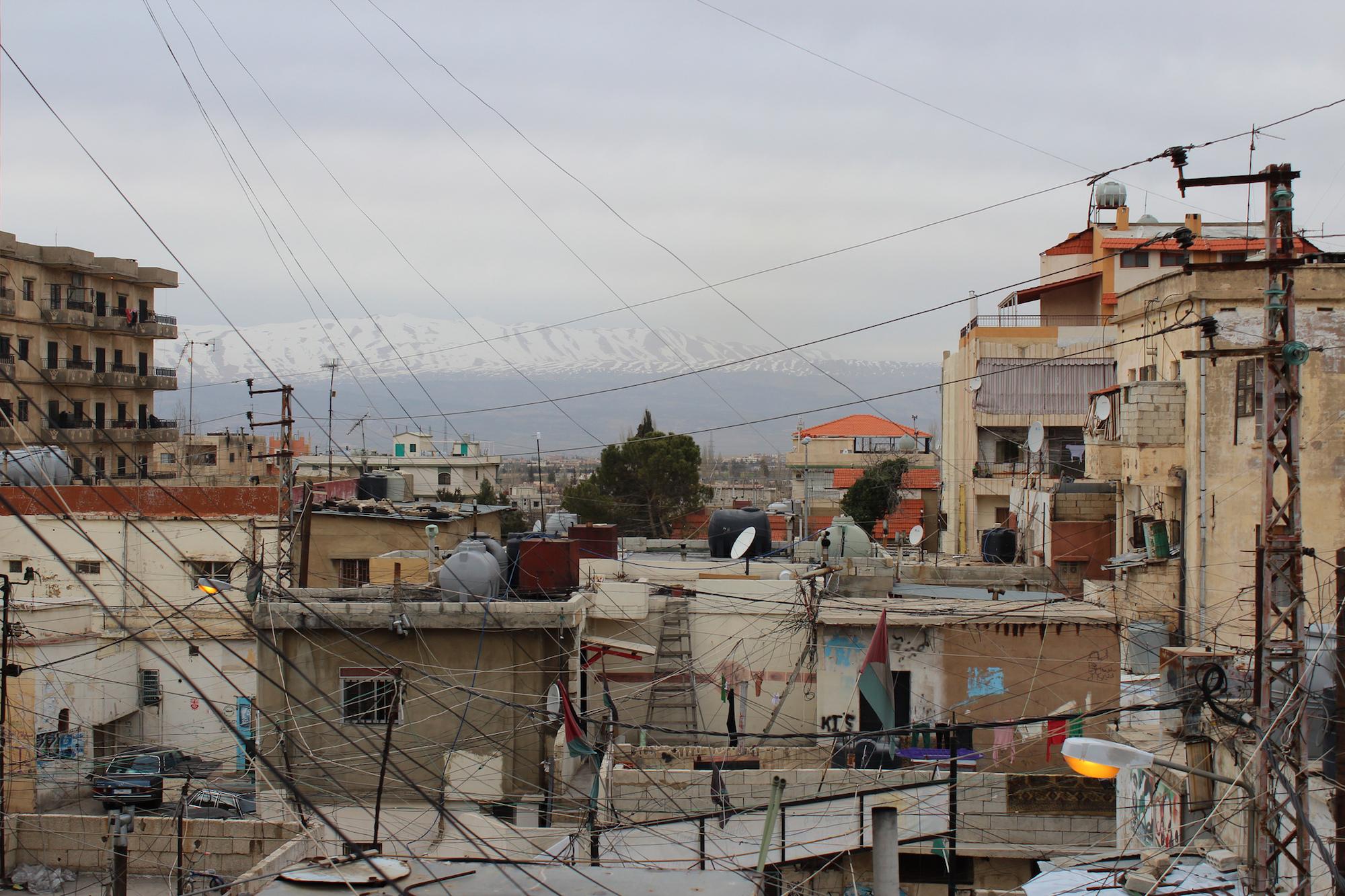Palästinensisches Flüchtlingscamp im Libanon