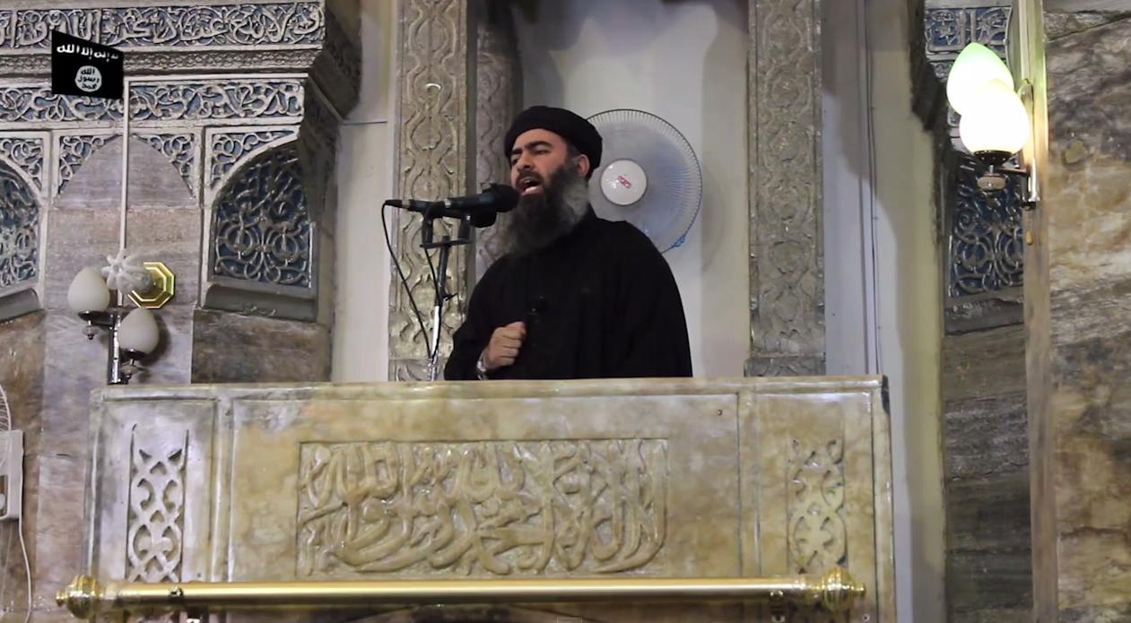 IS-Chef Abu Bakr al-Baghdadid
