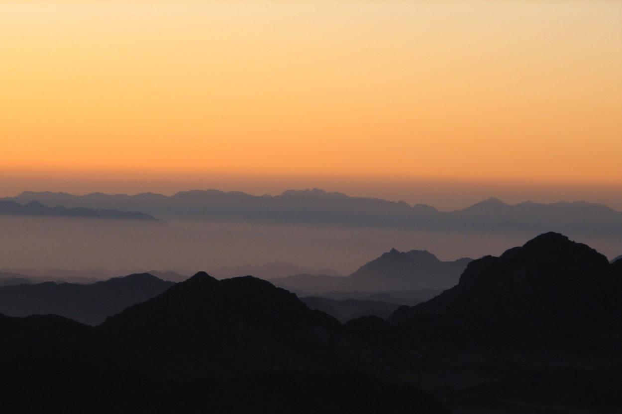 Blick übr den Sinai