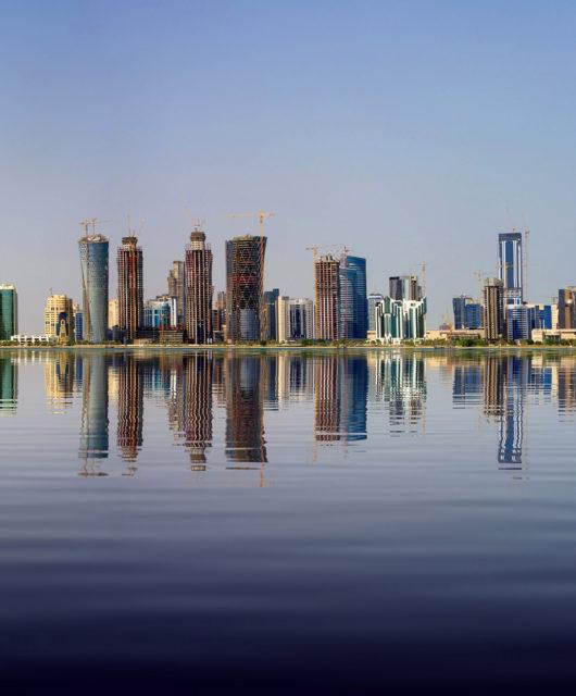Dohas Hauptstadt Katar