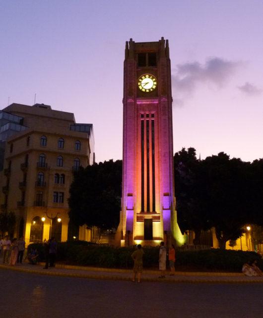 Am Place de l'etoile werden die frisch gewählten Parlamentarier nach den Wahlen im Libanon ein und ausgehen. Am Platz im Herzen Beiruts steht nämlich das libanesische Parlament. (Foto: Stefan Binder)