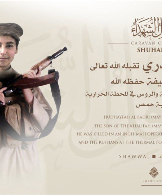 Botschaft von Extremisten des Islamischen Staates