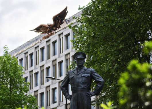 Ehemalige US-Botschaft in London