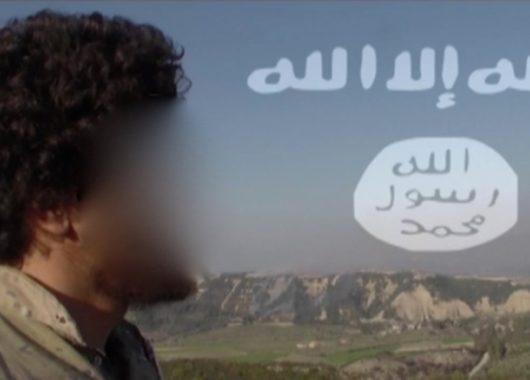 Propaganda-Bild eines österreichischen Jihadisten in Syrien