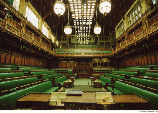 Ort heftiger Brexit-Diskussionen: Das Unterhaus in Westminster
