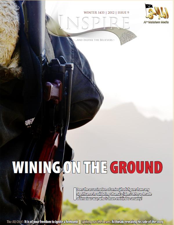 Titelseite des Inspire-Magazins