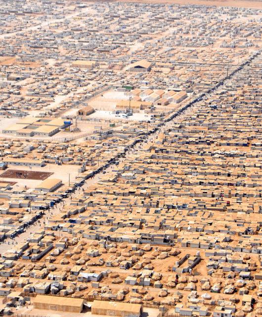 Jordanisches Flüchtlingscamp
