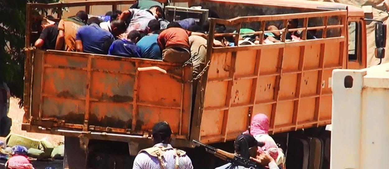 Massaker durch Kämpfer des Islamischen Staates