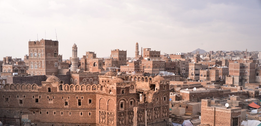 Altstadt von Sanaa: Umschlagplagplatz für illegale Kulturgüter (Foto: Rod Waddington, CC BY-SA 2.0)