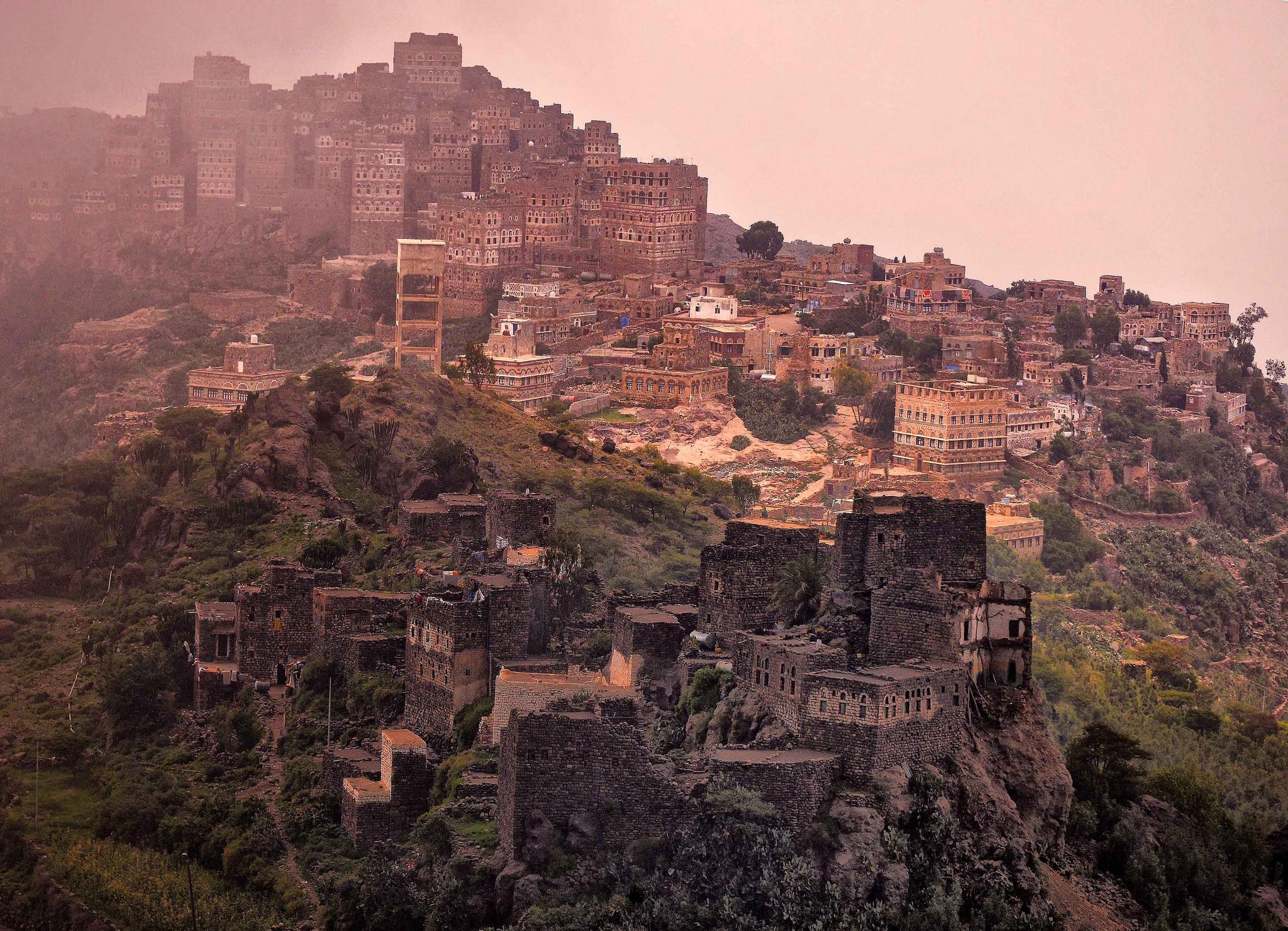 Jahrhunderte alte jemenitische Stadt - immer mehr Orte im Jemen sind vom illegalen Kunstgüterhandel betroffen.