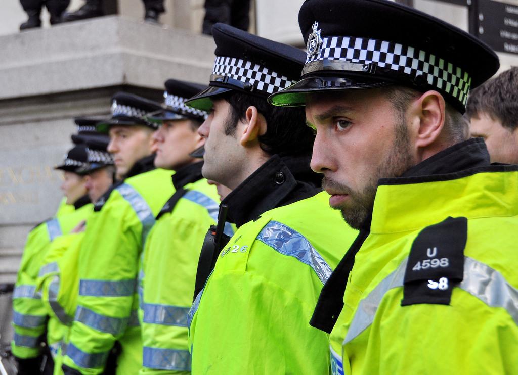 Londoner Polizisten in London