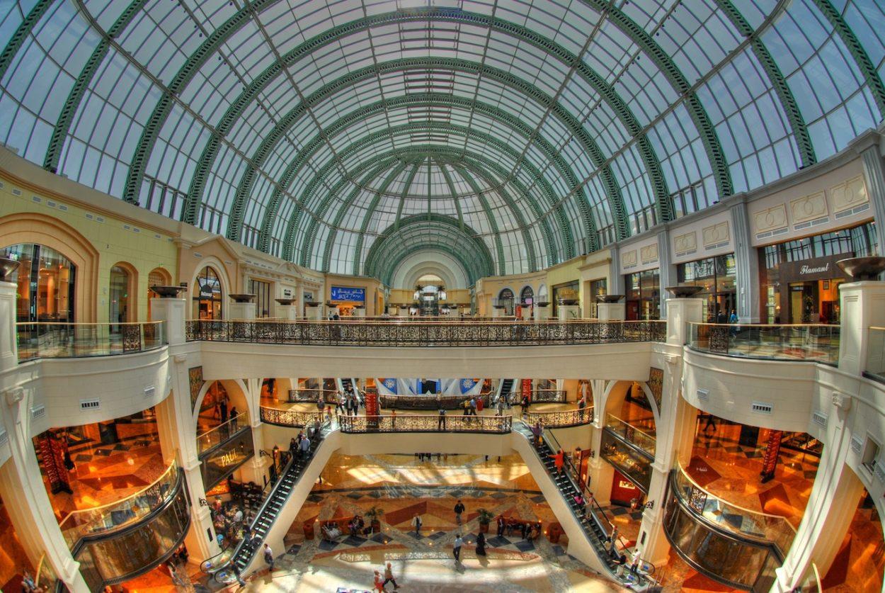 Auch in den Shops der Mall of the Emirates wird die Mehrwertsteuer eingehoben