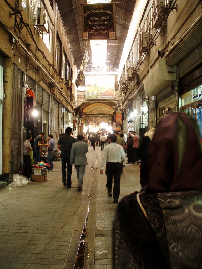 Wichtige Player im Iran: Die Händler in den Bazaren Teherans (Foto: Stefan Binder (c))
