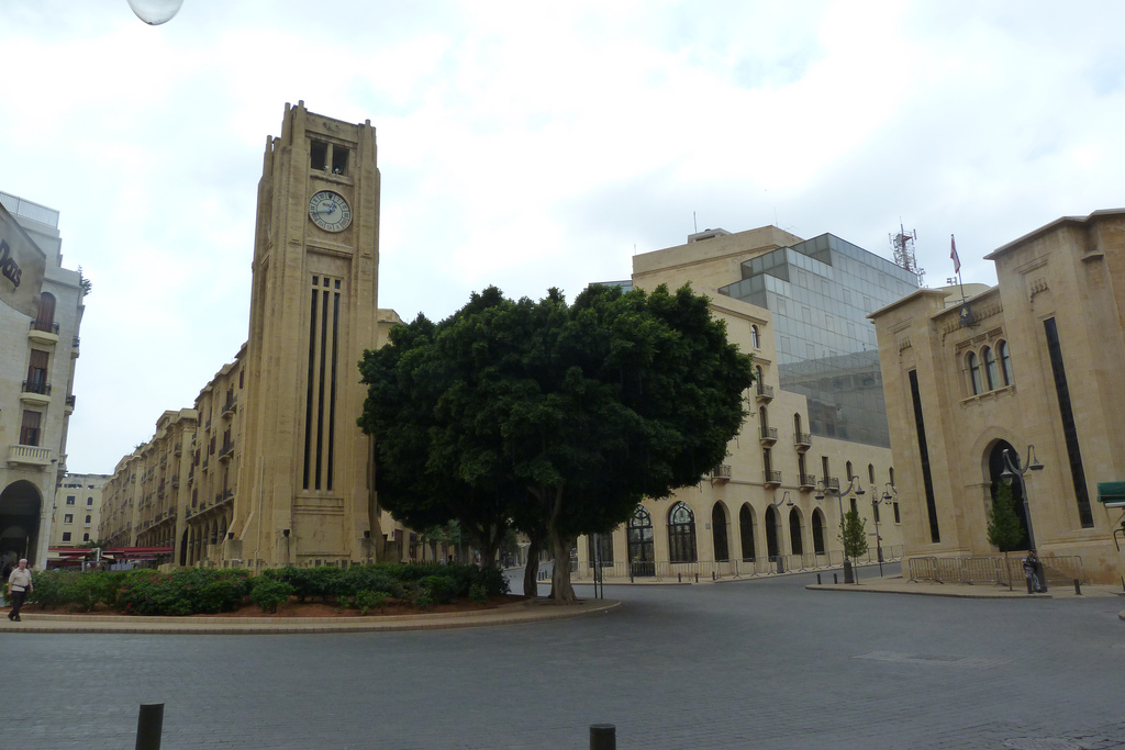 Libanons Parlament in Beirut