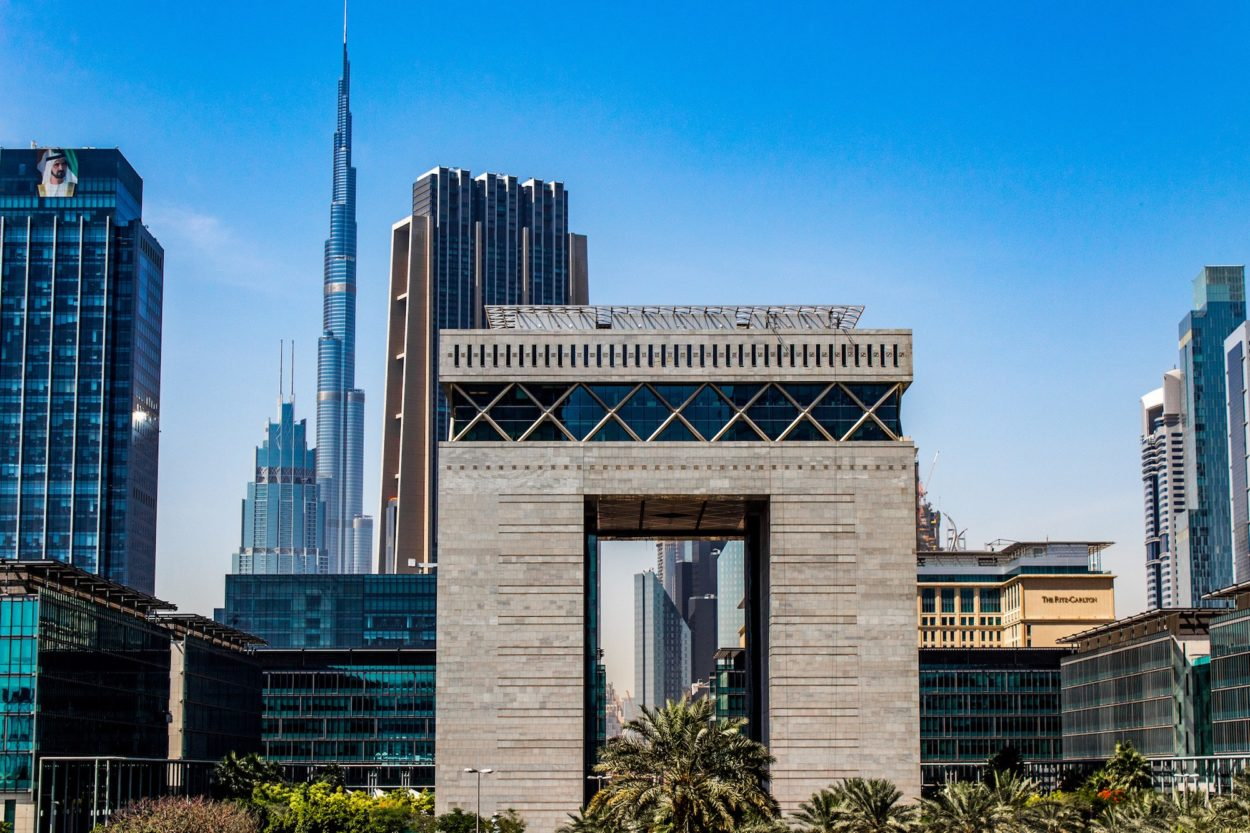 Das DIFC in Dubai
