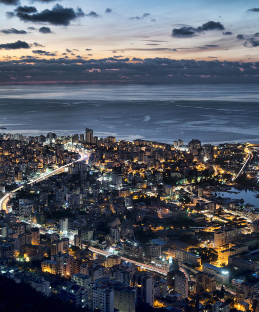 Blick über Beirut, die Hauptstadt des Libanon. Foto: Ahmad Moussaoui (CC BY 2.0) https://creativecommons.org/licenses/by/2.0/ https://www.flickr.com/photos/ahmadmoussaoui/8278992944/