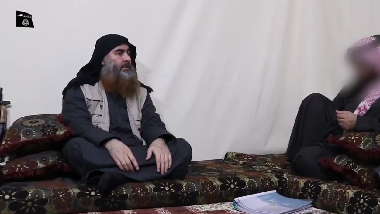 IS-Chef Abu-Bakr al-Baghdadi