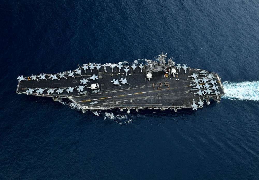 Flugzeugrtäger USS Roosevelt