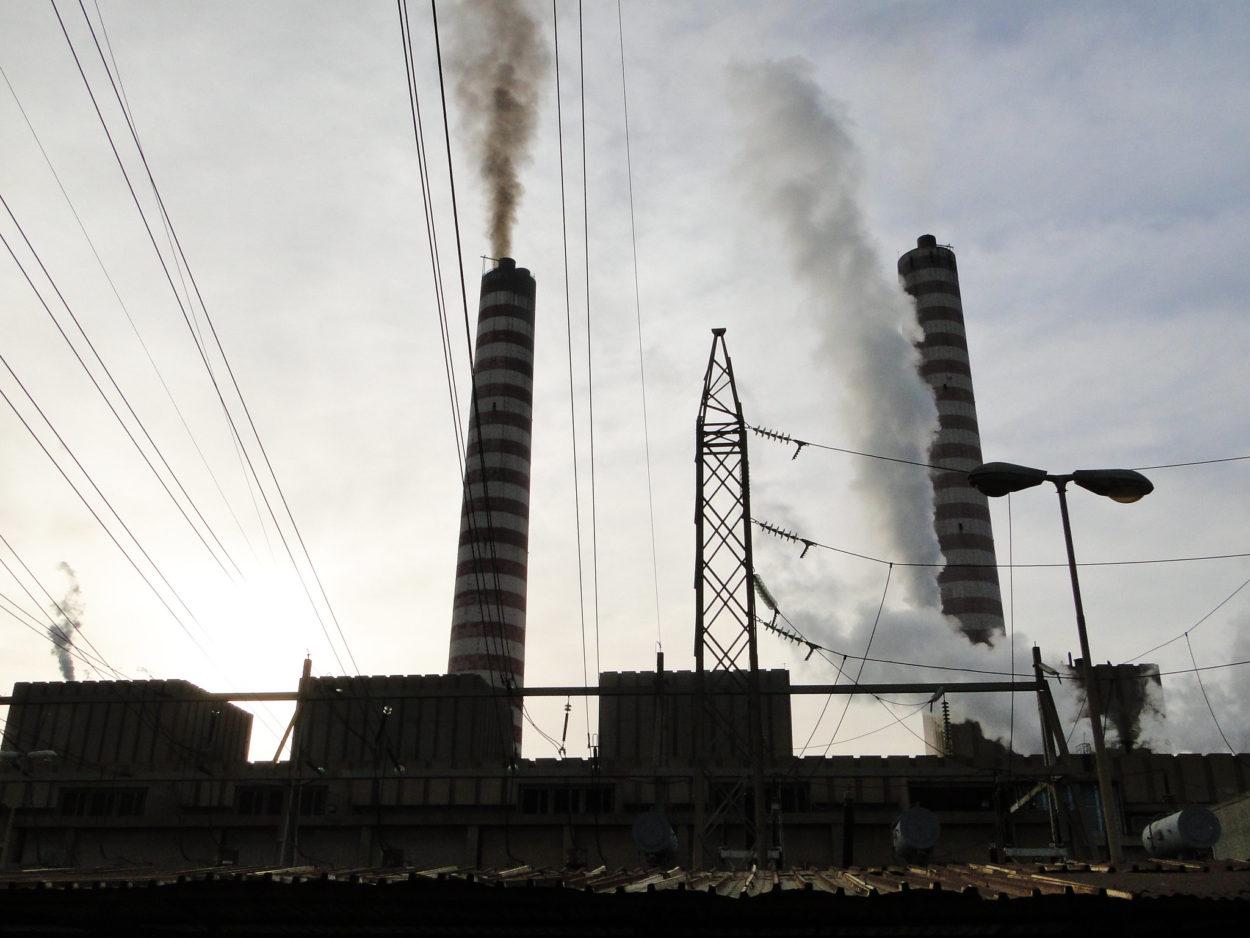 Das Kraftwerk in Jounieh