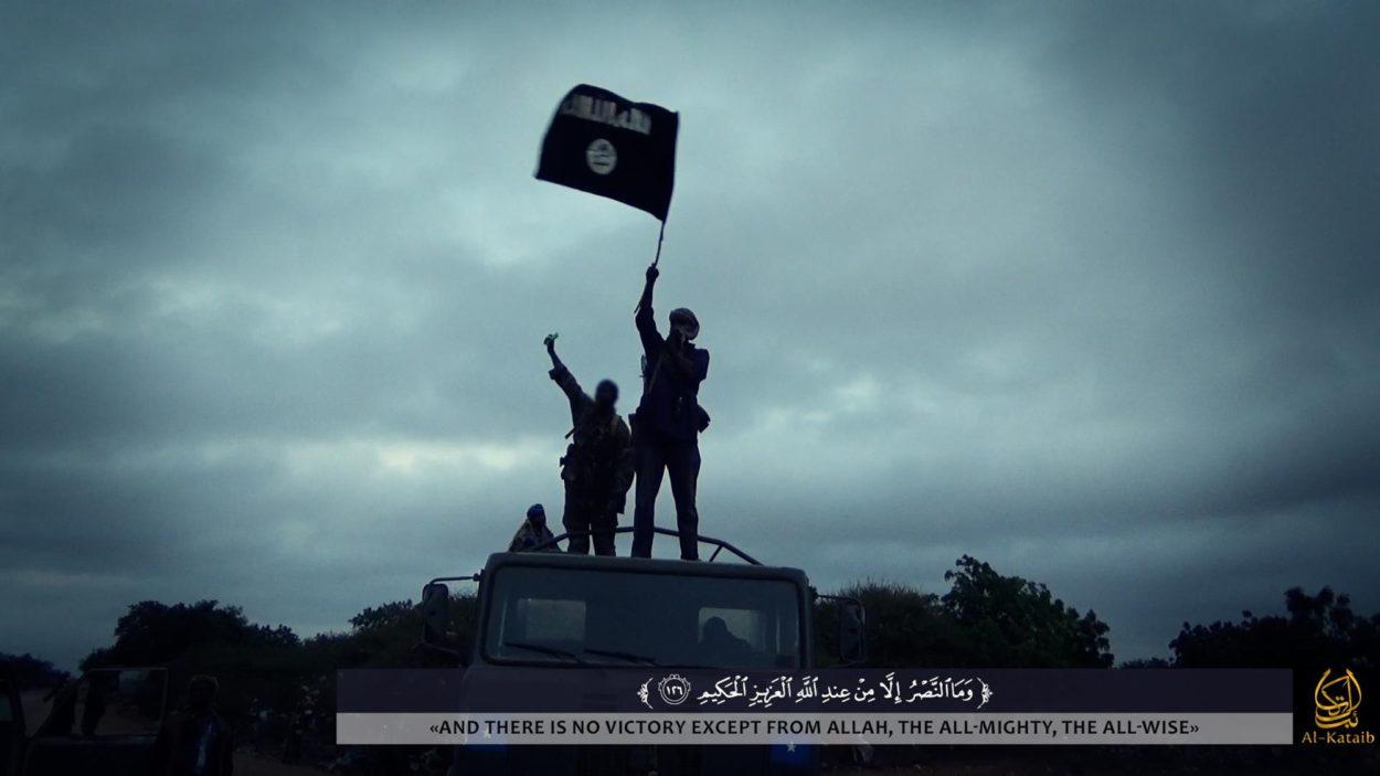 Propagandabild der Al-Shabaab-Miliz