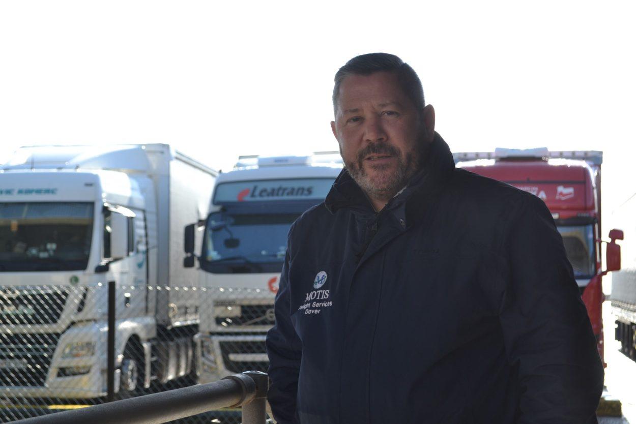 Tim Dixon in Dover
