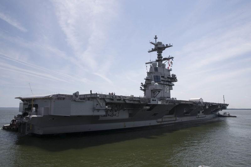 Flugzeugträger USS Ford