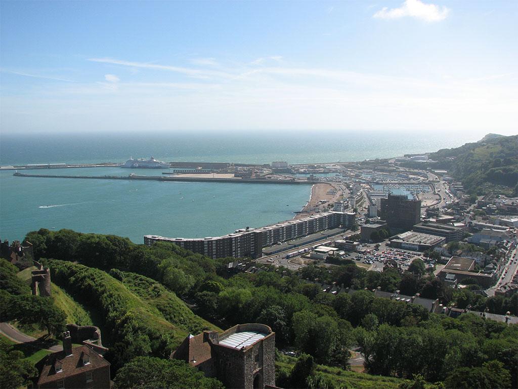Hafen von Dover vor dem Brexit