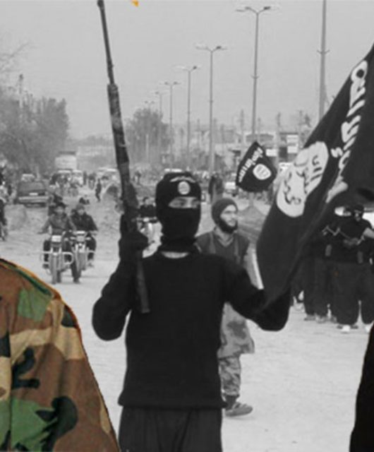 Osama bin Laden und Ayman Zawahiri